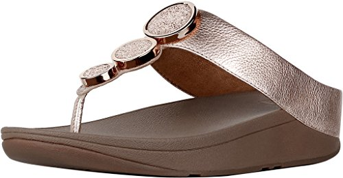 Fitflop – Halo Toe sandalias Rose Gold