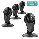 [Full HD] 1080P Wireless IP Camera,Nextrend WiFi Security Camera with Motion Detection,Night Vision,Two-Way Audio,Cloud Storage,Home Security IP Camera for Office/Baby/Nanny/Pet Monitor-Black,4 Pack For Sale