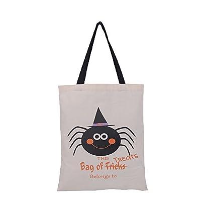 Litetao Halloween Pumpkin Bag Kids Candy Handbag Bucket Children Funny Multifunctional Candy Bag
