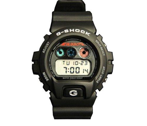 G-shock DW-6900 Metalocalypse Designer Watches - Black / One Size Fits All by Casio