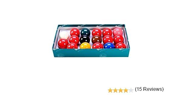 Aramith - Juego de bolas de billar (17 unidades, 4,76 cm): Amazon ...