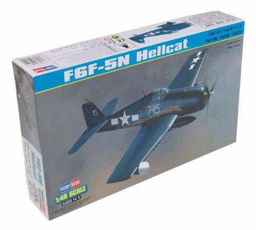 Hellcat Airplane - Hobby Boss F6F-5N Hellcat Airplane Model Building Kit