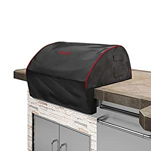 Bull 56006 Grill_Covers, 38 Inch, Black With Red Trim