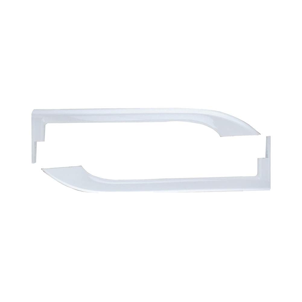 5304506469 5304486359 Refrigerator Door Handles for Frigidaire - Replace Part Number # AP6036330 242059504 242059501 5304497105 5304504507 Left and Right Handle Set