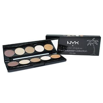amazon com nyx 5 color shadow 06 i dream of nevis eye shadows