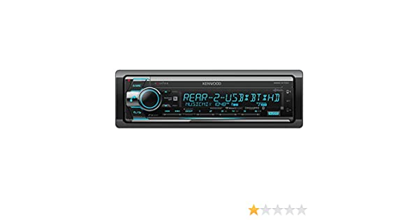 Kenwood KDC-X701 CD Receiver with built in Bluetooth /& HD Radio KDCX701