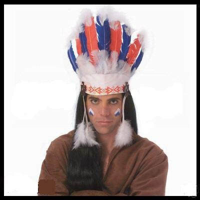 Native Headdress (Rubie's Costume Co Chief Headdress)