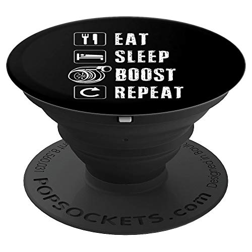 Boost Turbo Race Car Spool EWG Turbocharger Auto X JDM Japan PopSockets Grip and Stand for Phones and Tablets ()