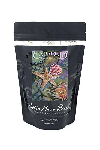 Cape Cod, Massachusetts - Tidepool (8oz Whole Bean Small Batch Artisan Coffee - Bold & Strong Medium Dark Roast w/ Artwork)