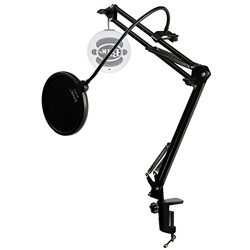 Price comparison product image Blue Microphones Snowball iCE USB Microphone with Knox Gear Studio Arm and Pop Filter