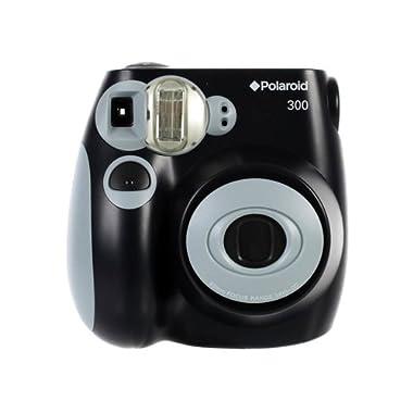 Polaroid PIC-300 Instant Film Camera (Black)