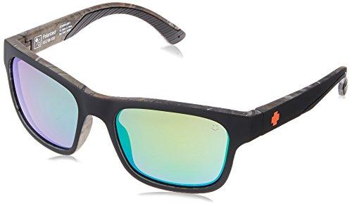 HUNT DECOY XTRA - HAPPY BRONZE POLAR W/ GREEN - Sunglasses Spy Models