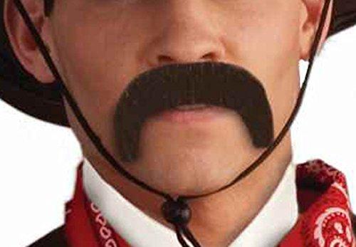 [Forum Novelties Men's Handmade Pancho Villa Mustache, Black, One Size] (Pancho Villa Costumes)