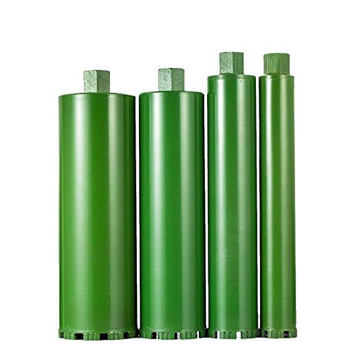 3' Pipe Cutter - 2-1/5'' 3'' 4'' 4-4/5'' Combo Wet Diamond Core Drill Bit for Concrete Granite Marble cured concrete asphalt Hole Saw (Premium Green Series)