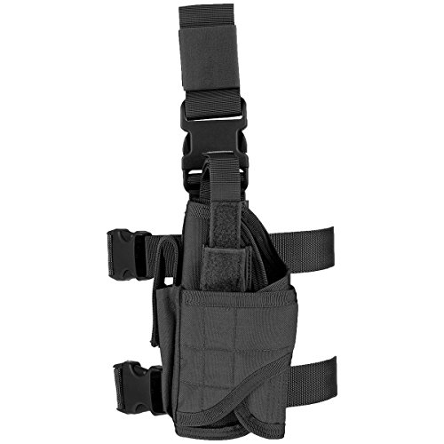 Condor Tornado Tactical Left-handed Leg Holster Black