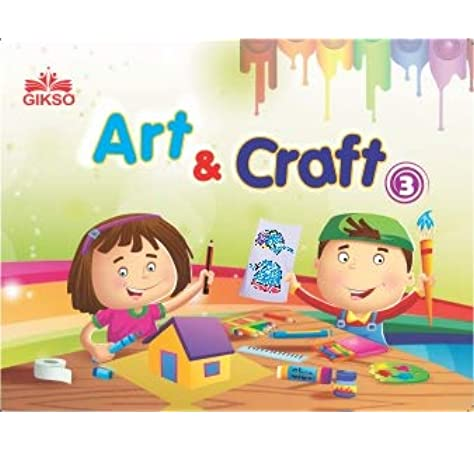 Buy Gikso Art And Craft 2 Activity Book For Kids Age 5 To 8 Years