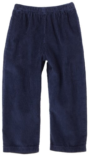 Flap Happy Little Boys' Corduroy Adventure Pant, Navy, 3