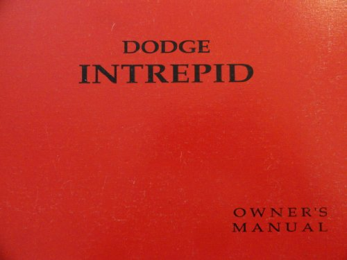1992 1993 Dodge Intrepid Owners Manual