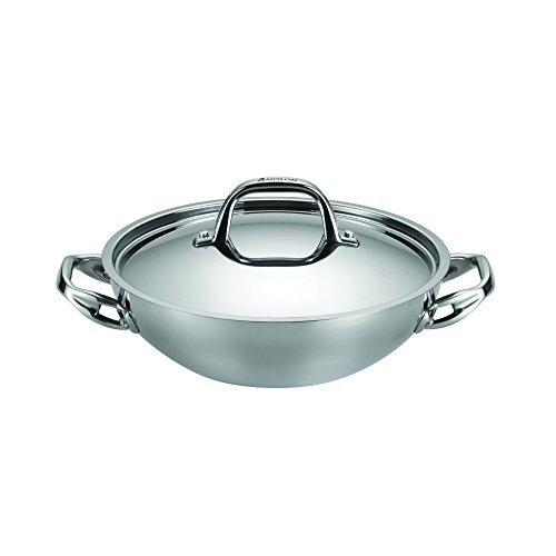 (Anolon Tri-Ply Clad Stainless Steel 3-Quart Covered Braiser)