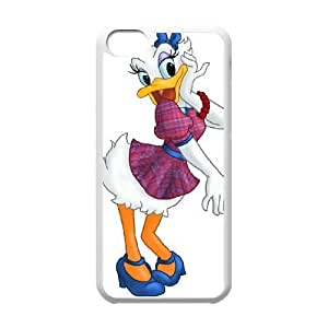 iPhone 5C Phone Case White Mr. Duck Steps Out Daisy Duck CLL3678731