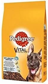 Pedigree Puppy Large Dog Complete Food with Chicken and Rice (10kg) (Pack of 2) – Dogs Corner