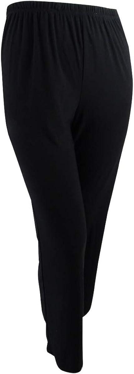R/&M Richards Womens Beaded Neck 3 Piece Pant Set