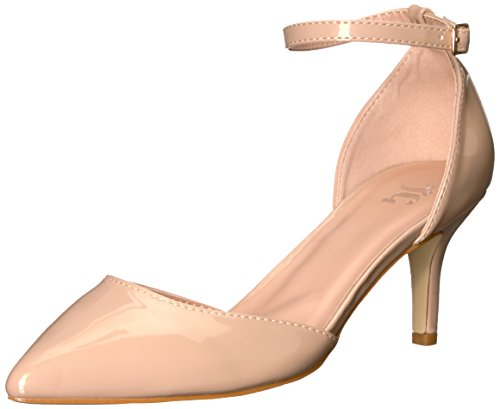 Brinley Co Womens Mike-P Pump Nude CNpoN0