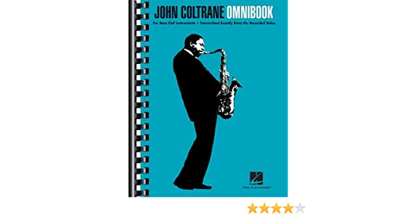 John coltrane omnibook for bass clef instruments john coltrane john coltrane omnibook for bass clef instruments john coltrane 0884088636678 books amazon fandeluxe Image collections