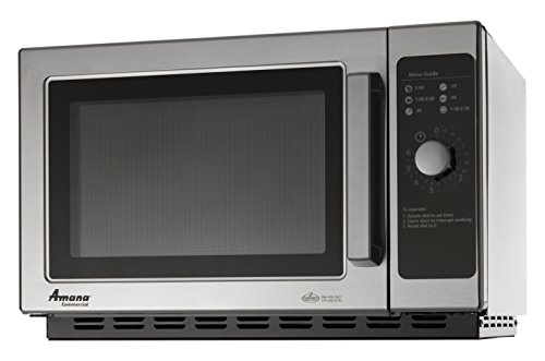 Amana RCS10TS Medium Duty Microwave 1000W