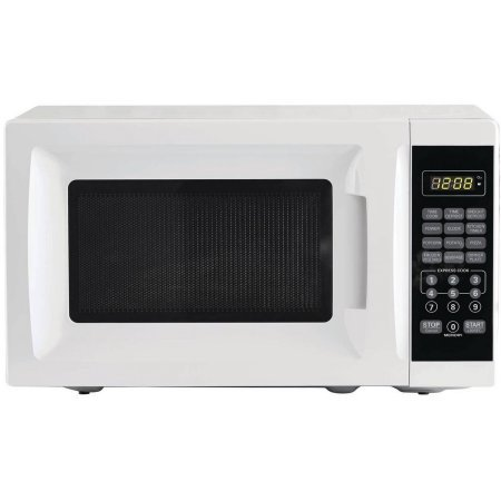 700W Output Microwave Oven, White