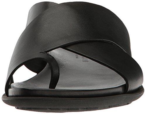Kenneth Cole New York Uomo Sotto-sand-able Toe Anello Sandalo Nero