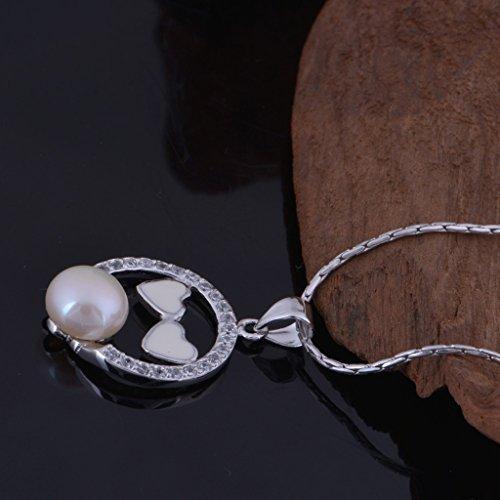 Epinki, Bijoux Pendentif Collier Plaqu¨¦ or Femme Cristal Zircone Cubique ¨¦cologique Cha?ne