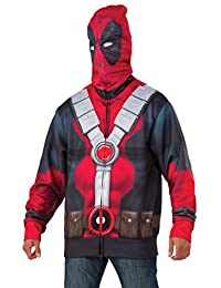 Rubies Costume Men's Deadpool Costume Hoodie