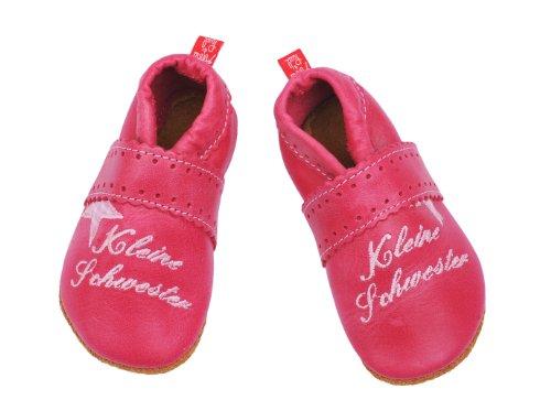 Anna und Paul Krabbelschuhe 1156 Kleine Schwester pink