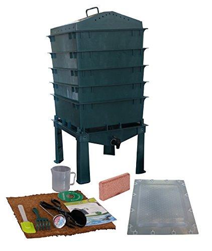 Compost bin community greenhouse school greenhouse for Achla designs cp 03 kitchen compost pail