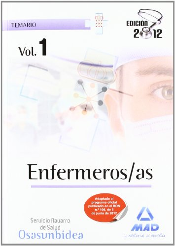 Enfermeros/as del Servicio Navarro de Salud-Osasunbidea. Temario volumen I: 1