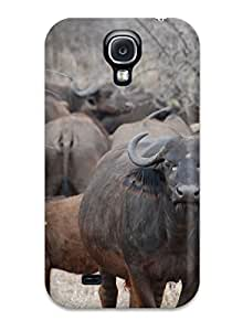High-quality Durable Protection Case For Galaxy S4(african Buffalo Animal Other)