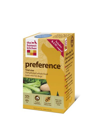 The Honest Kitchen Preference Grain-Free Dehydrated Dog Food, 4-Ounce Trial, My Pet Supplies
