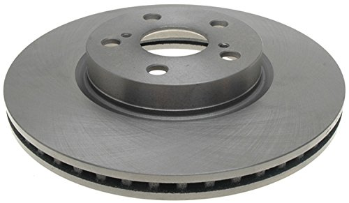 ACDelco 18A2601A Advantage Non-Coated Front Disc Brake Rotor
