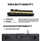 FNATIC miniStreak - LED Backlit RGB Mechanical