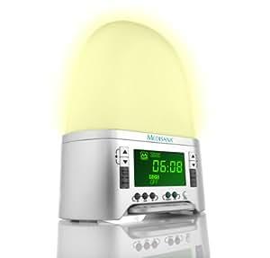 Medisana SAC - Lámpara de ambiente (Luz para despertar, LED, Plata)