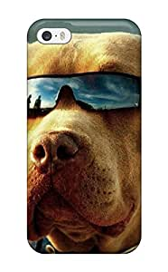 YprIglE4455BMQMe Tpu Case Skin Protector For Iphone 5/5s Dog With Sunglasses With Nice Appearance