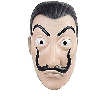 ITAUK Máscara de Halloween Máscara de Fiesta de Disfraces realistas Máscara de látex