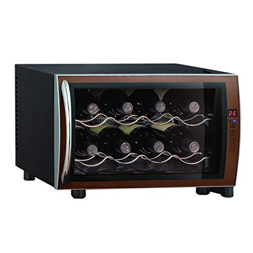 Oceanindw Red Wine Constant Temperature and Humidity Wine Cooler - Thermoelectric Wine & Drug Cooler - Intelligent Electronic chip Cigar Freezer - Multi-Function high-end Storage Cabinet