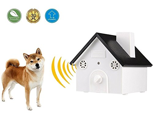 [KCSC] Ultrasonic Anti Barking Device | Bark Control Deterrents | Training Tool | Stop Barking, No Barking | Safe for Small/Medium/Large Dogs | Outdoor/Indoor uses, up to 50 Feet range (Upgraded)