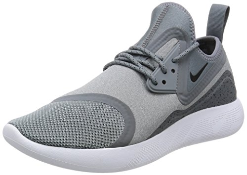 Nike Men Lunarcharge Essential, BLACk/DARK OBSIDIAN-VOLT Cool Grey Black 002