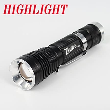 Zeusray Edc120 Copper Solid Pill 980 Lumen Zoom Cree Xm L2 Led