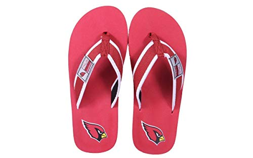 Officially Arizona Flip Flops Feet Feet Cardinals Comfy Contour Happy NFL Licensed and rtvqSHwr