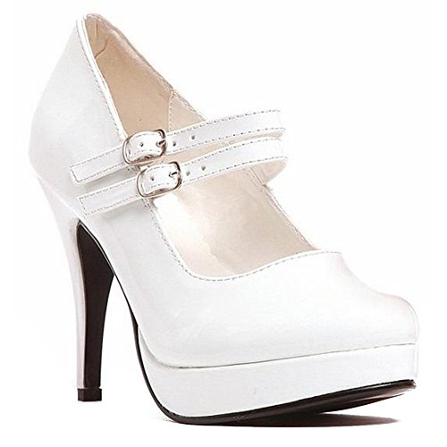 Jane-421 Adult Shoes White - Size 9 (Jane Shoes White Adult)