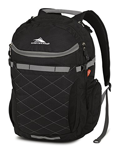 High Sierra Broghan Backpack, Black Charcoal
